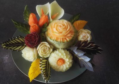 foodart carving trencin